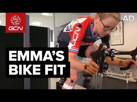 Emma's Bike Fit | Saddle Position, Handlebar Setup & Pedalling Technique