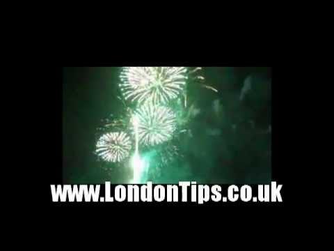 London Fireworks Thames Festival 2011