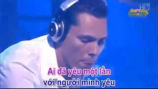 Karaoke HD Cau Vong Khuyet Remix Melody Dj Tien Chip ft Tuan Hung