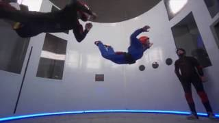Indoor Skydiving Bedford Tunnel August 2016