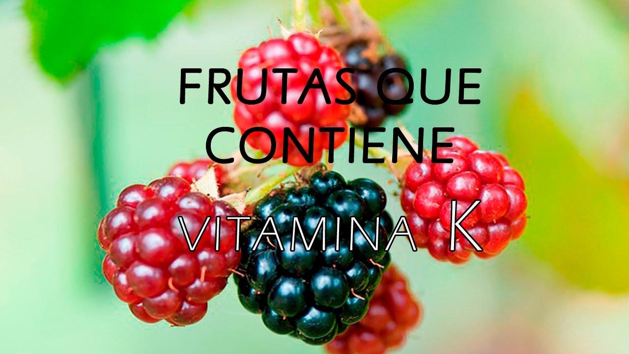 Frutas que Contienen Vitamina K - Frutas Ricas en Vitamina