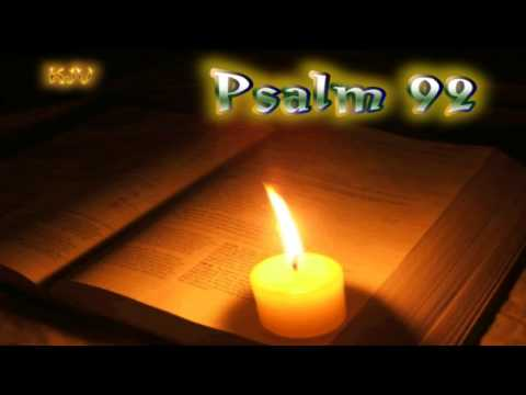 (19) Psalm 92 - Holy Bible (KJV)