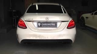 Mercedes C-Klasse W205 Soundmodul von CHROMETEC., V8 Sound für alles MB C-Klasse W205 Modelle.