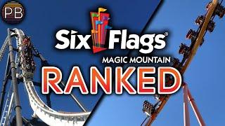 List Of Six Flags Magic Mountain Rides