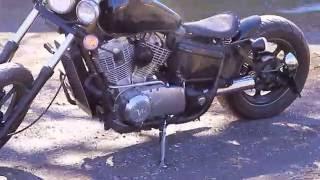 94 Honda Shadow 1100 Bobber Build