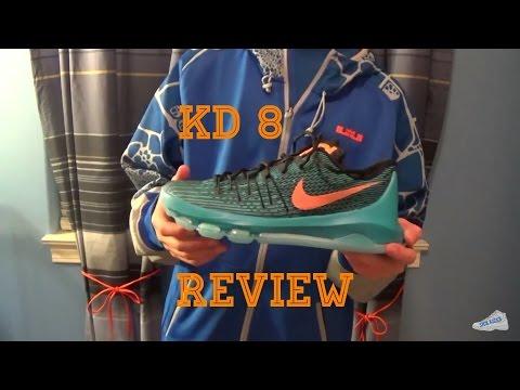 Nike KD 8 Review!