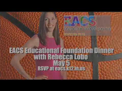 East Allen County School presents Rebecca Lobo