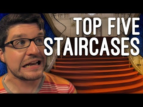 Top Five Musical Theatre Staircases