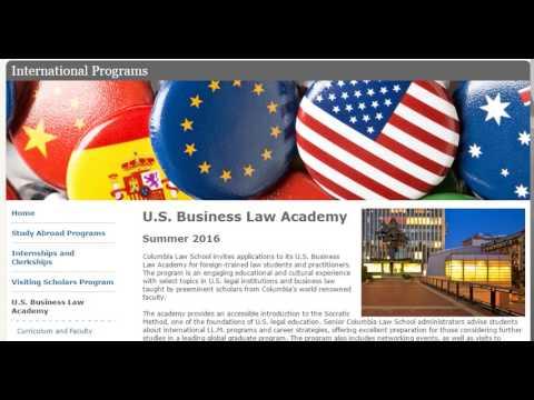 U.S.Business law academy