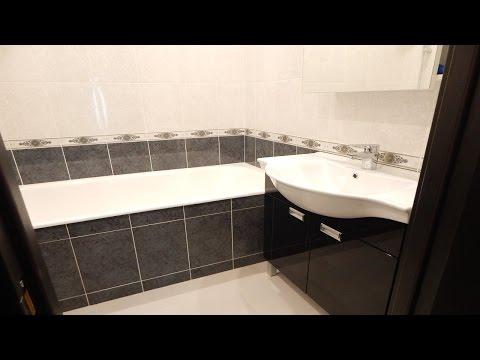 Ремонт ванной комнаты под ключ в Москве фото и цены