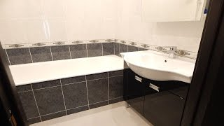 Установка ванной | Важный секрет установки чугунной ванны(Как установить чугунную ванну? Если пытаться отрегулировать уровень ванной ножками, придётся изрядно..., 2015-11-30T19:38:32.000Z)