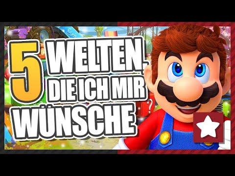 5 Welten, die ich mir wünsche || Super Mario Odyssey || Gaming Physics