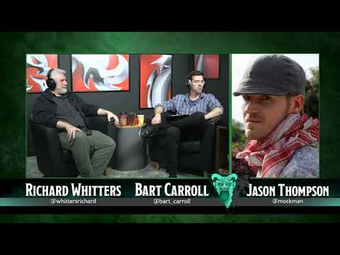 Dragon+: Cartoons with Jason Thompson & Richard Whitters, 12/12/17