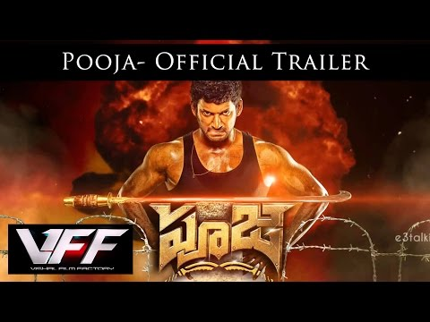 Pooja Official  Trailer - Telugu | Vishal,Shruti Haasan | Hari | Yuvan Shankar Raja