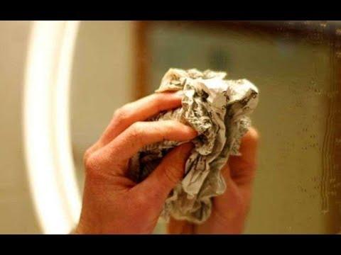 Как помыть Зеркало без Следов и Разводов! 9 советов чистоты