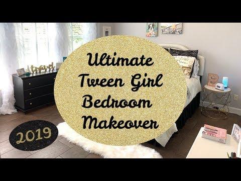 BEDROOM MAKEOVER | TWEEN GIRL ROOM MAKEOVER | | LIVING IN THE MOM LANE