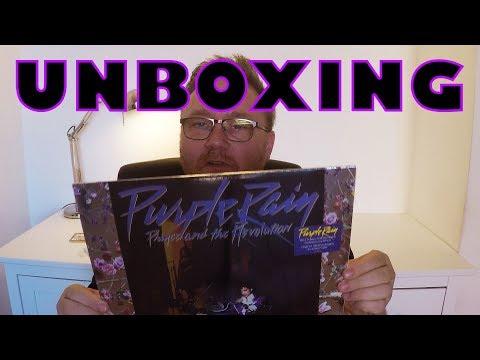 Purple Rain Deluxe Remaster Vinyl Unboxing