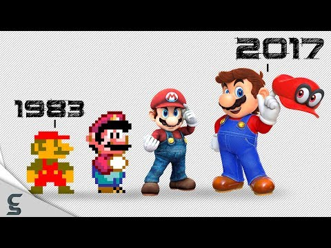 The Great History of Mario w/ 65 Fun Facts!