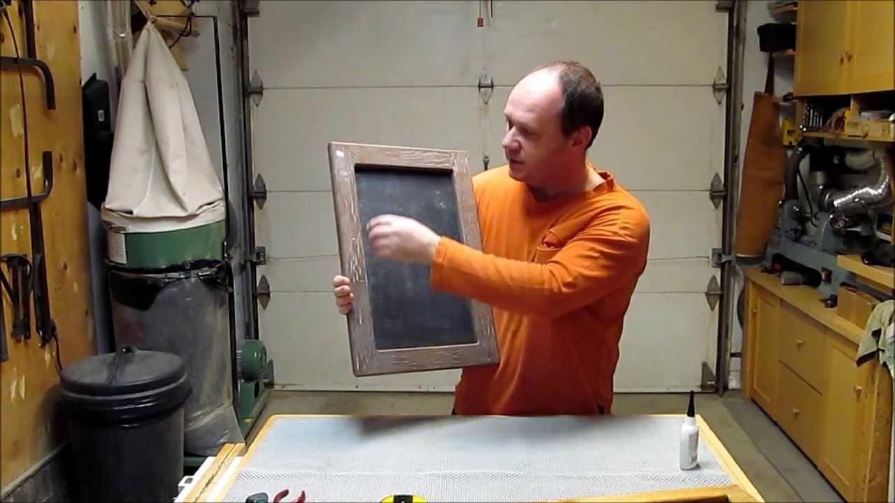 Fabriquer Un Tableau Noir