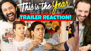 THIS IS THE YEAR | Official TRAILER - REACTION! (Selena Gomez, Gregg Sulkin, David Henrie)