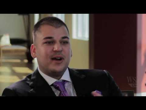 Rob Kardashian Talks to the WSJ's Lee Hawkins about His Sock Line, Arthur George