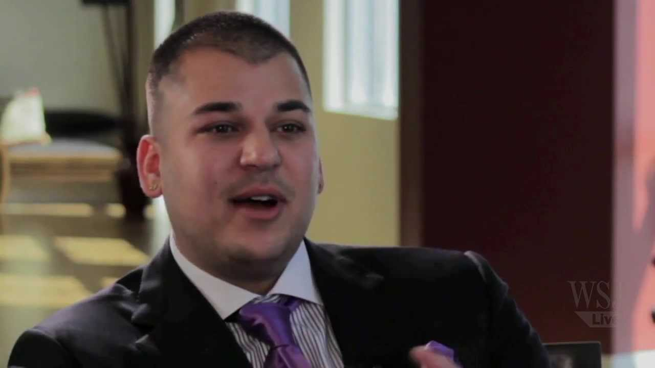 Top Rob Kardashian Talks to the WSJ's Lee Hawkins about His Sock Line &OY17
