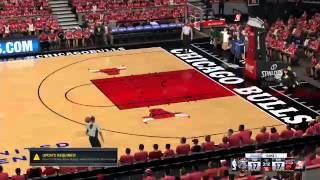 NBA  2K16 invisible players