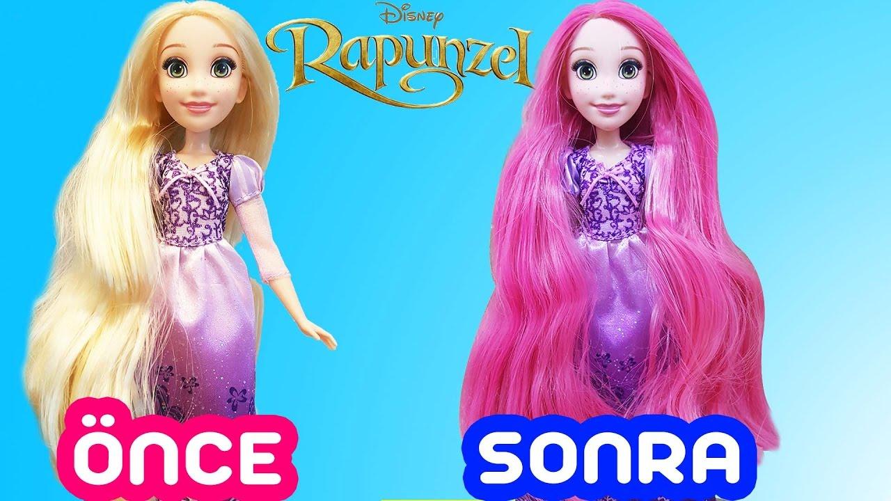 Rapunzel Saç Boyama çizgi Film Masal Karakterleri Mira Ya
