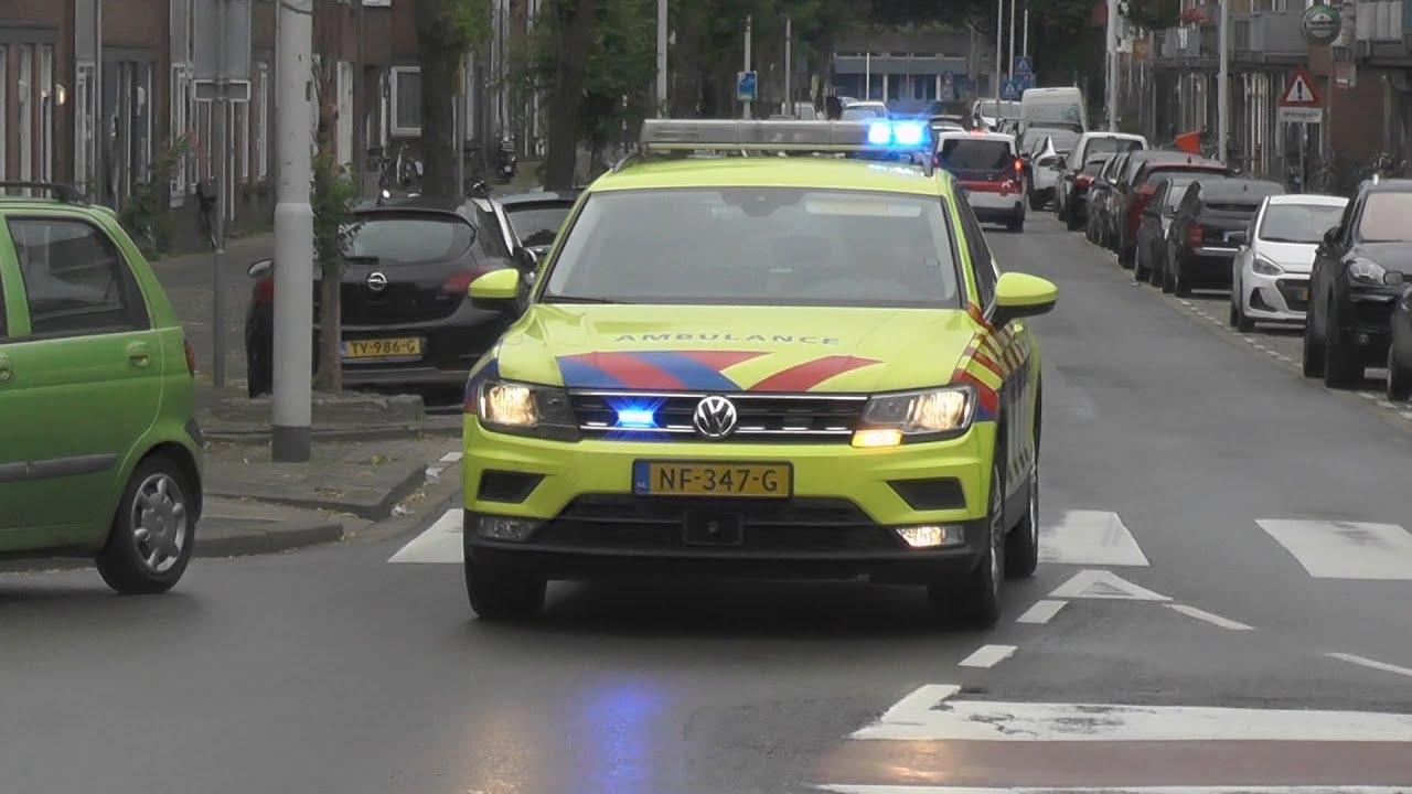 Hulpdiensten met spoed naar een explosie in Rotterdam-Spangen!