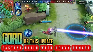 Insane Damage Gord Gord Best Op Builds And Gameplay 2019 Gord Mobile Legends