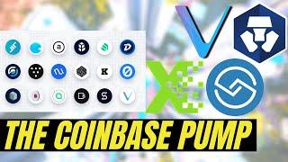 HUGE COINBASE PUMP!! Vechain VET, Crypto.com CRO, CargoX and ShareRing | Crypto News