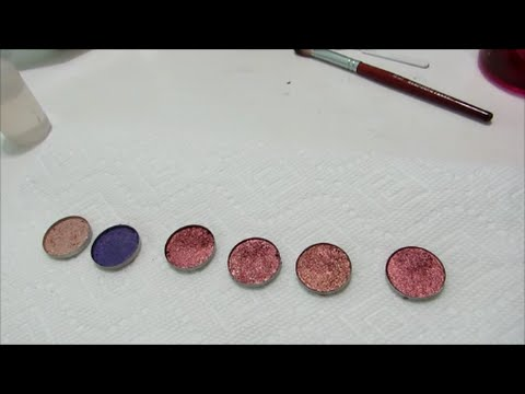 DIY Eyeshadows Make Your Own with Mica's and Pigments    Part 1