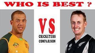 Andrew Symonds vs Scott Styris Career Comparison Best Batting Innings Runs Century Vs in Test ODI T