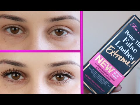 Too Faced Better Than False Lashes Extreme New Improved Formula ...