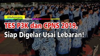 Tes Seleksi P3k Tahap 2 Andamp Cpns 2019 Digelar Setelah Lebaran