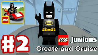 LEGO JUNIORS Create & Cruise | Walkthrough GamePlay Lego Batman Cars Film Teil #2 iOS - /Android