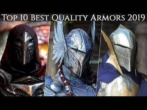 Top 10 Best Armors of Insane Quality with Mod List (1440p) | Skyrim SE Ultra ENB Graphics