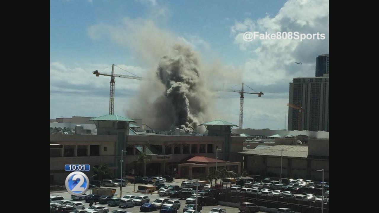 Ala Moana Center Food Court Fire