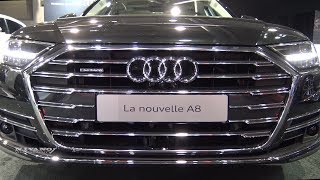 2019 Audi A8L Quattro - Exterior And Interior Walkaround - 2018 Quebec Auto Show