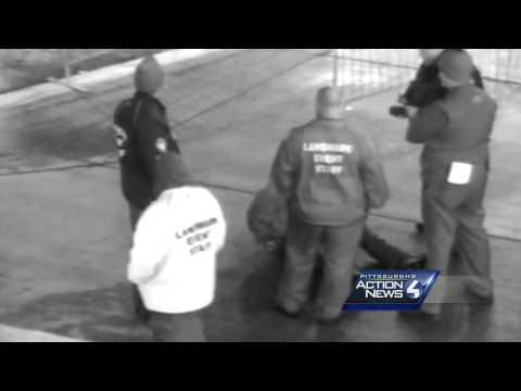Raw Video: Violent arrest caught on Heinz Field cameras