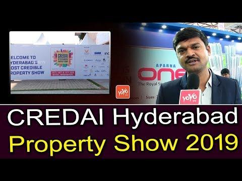 CREDAI Hyderabad Property Show 2019 in Hitex   Real Estate in Hyderabad   YOYO TV Channel