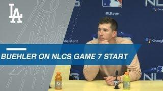 NLCS Gm7: Walker Buehler discusses starting Game 7