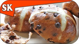 Chocolate Hot Cross Buns - Easter Treats