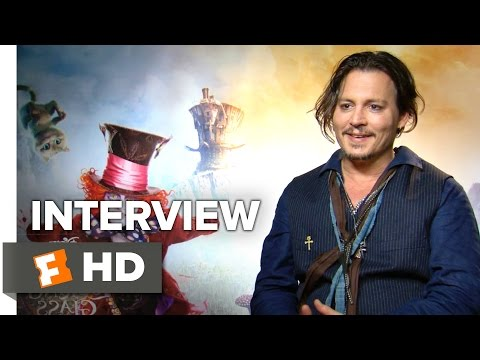 Alice Through the Looking Glass Interview - Johnny Depp (2016) - Fantasy Movie HD