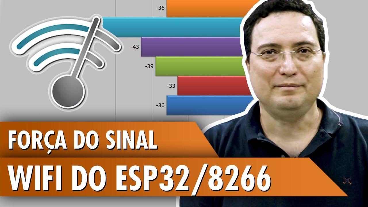 ESP32 / 8266 WiFi Signal Strength: 14 Steps