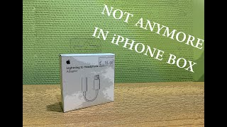 Apple lightning to 3.5 mm headphone jack adapter - discussion and full review (A1749)