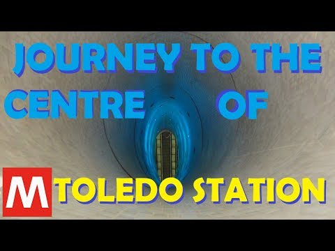 Europe 2019 (Pt. 16) - Journey To The Centre Of Toledo Station, Naples Metro