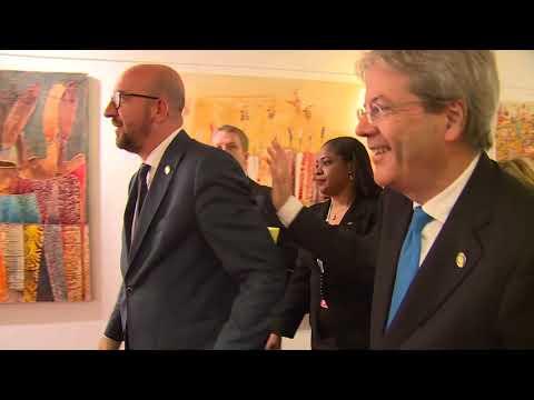 Il Presidente Gentiloni in Costa d'Avorio per il Vertice Ue - Africa