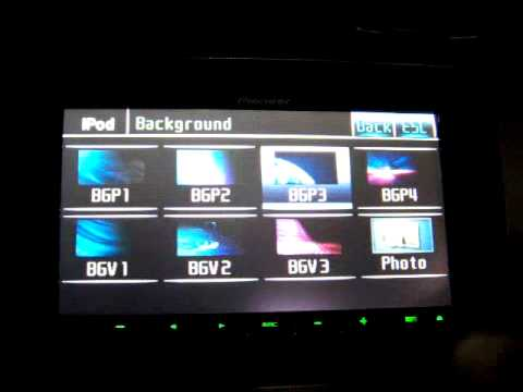 Pioneer AVH-P4100DVD Installed, functions, menus - YouTube