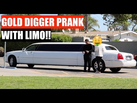 Girlfriend Confronted & Exposed in Limousine Gold Digger Prank? | UDY Pranks 2017